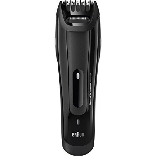Remington MB4040 Lithium Ion Powered Men's Rechargeable Mustache Beard and Stubble Trimmer, Black