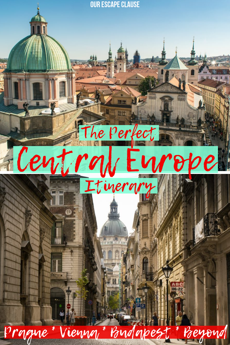 prague, vienna, budapest, beyond: an epic central europe