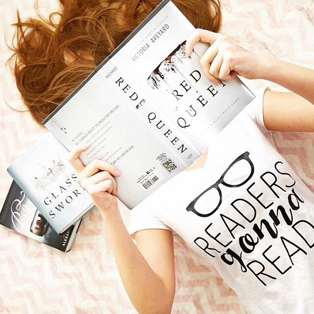 Readers Gonna Read Womens Graphic Tee