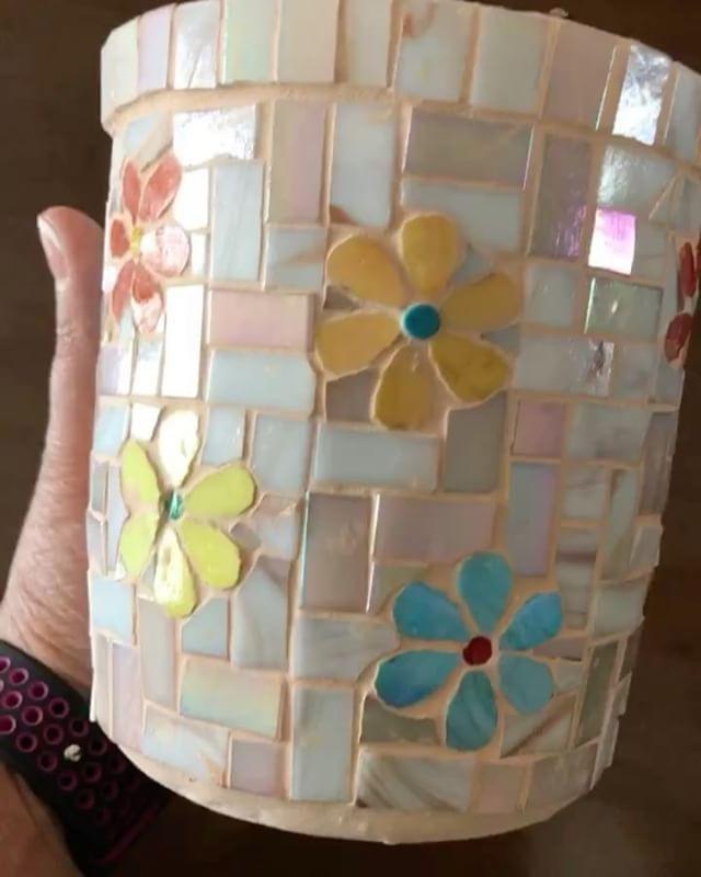 Resultado de imagen para flores con mosaicos   Mosaic Tiling ...
