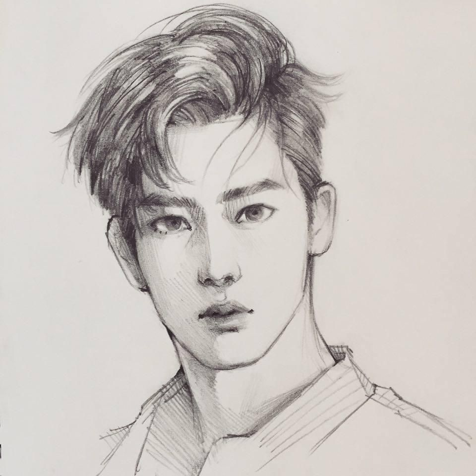 Fan art of jaehyun 재현 of nct u from their music video without you credit goes to bearbrickjia