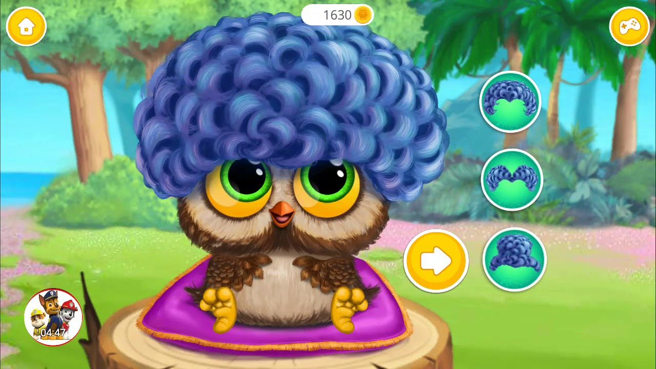 Fun New Born Baby Animal Care Kids Learn Colors Makeover Game Baby