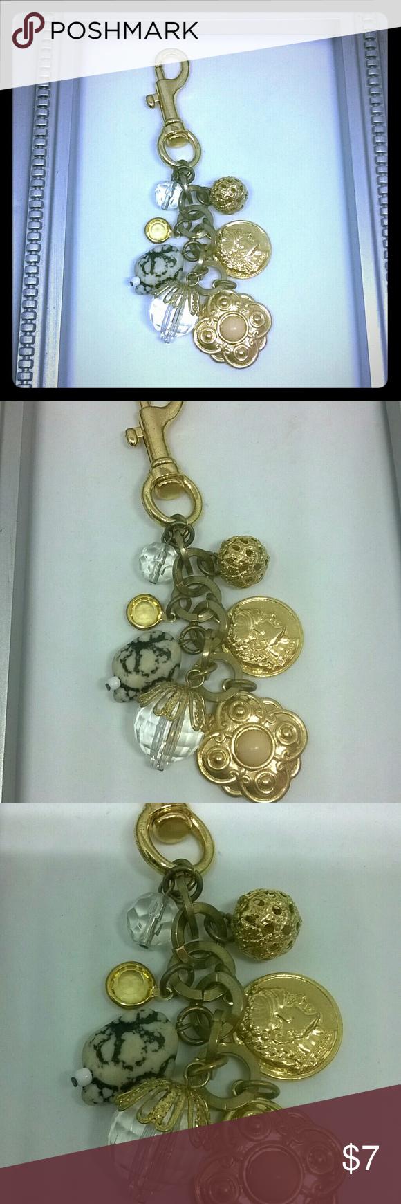 Gold charm keychain or purse charm Gold charm keychain or purse charm Mia Other