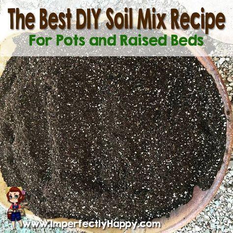 The Best Diy Soil Mix Recipe Garden Compost Organic 400 x 300