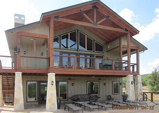 Metal building carriage house built in texas hq plans for Steel home plans designs