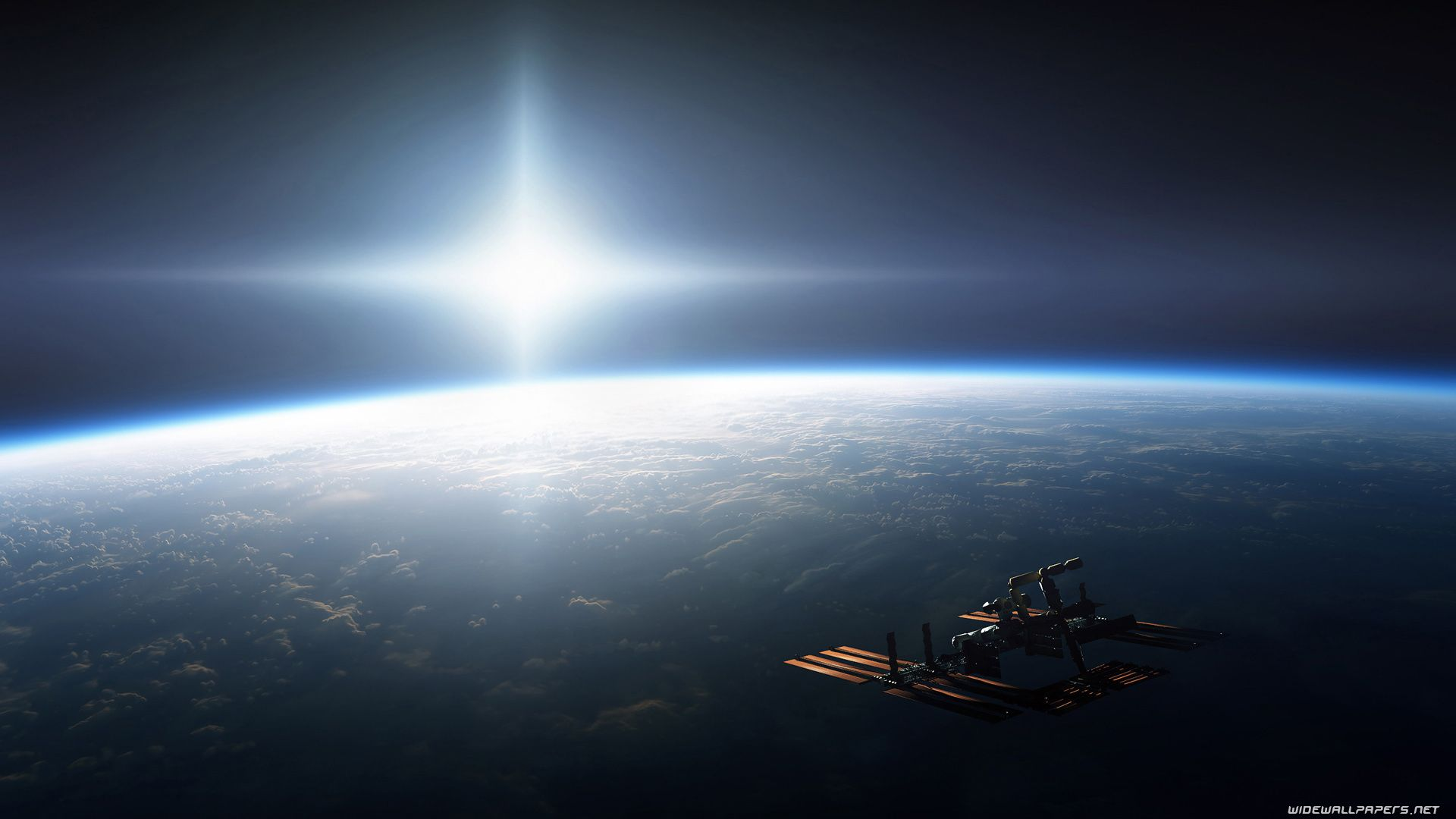 Earth from space wallpaper 1920x1080 hd background - Nasa space wallpaper hd ...