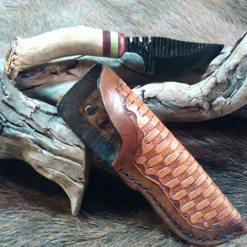 Choctaw skinning knife