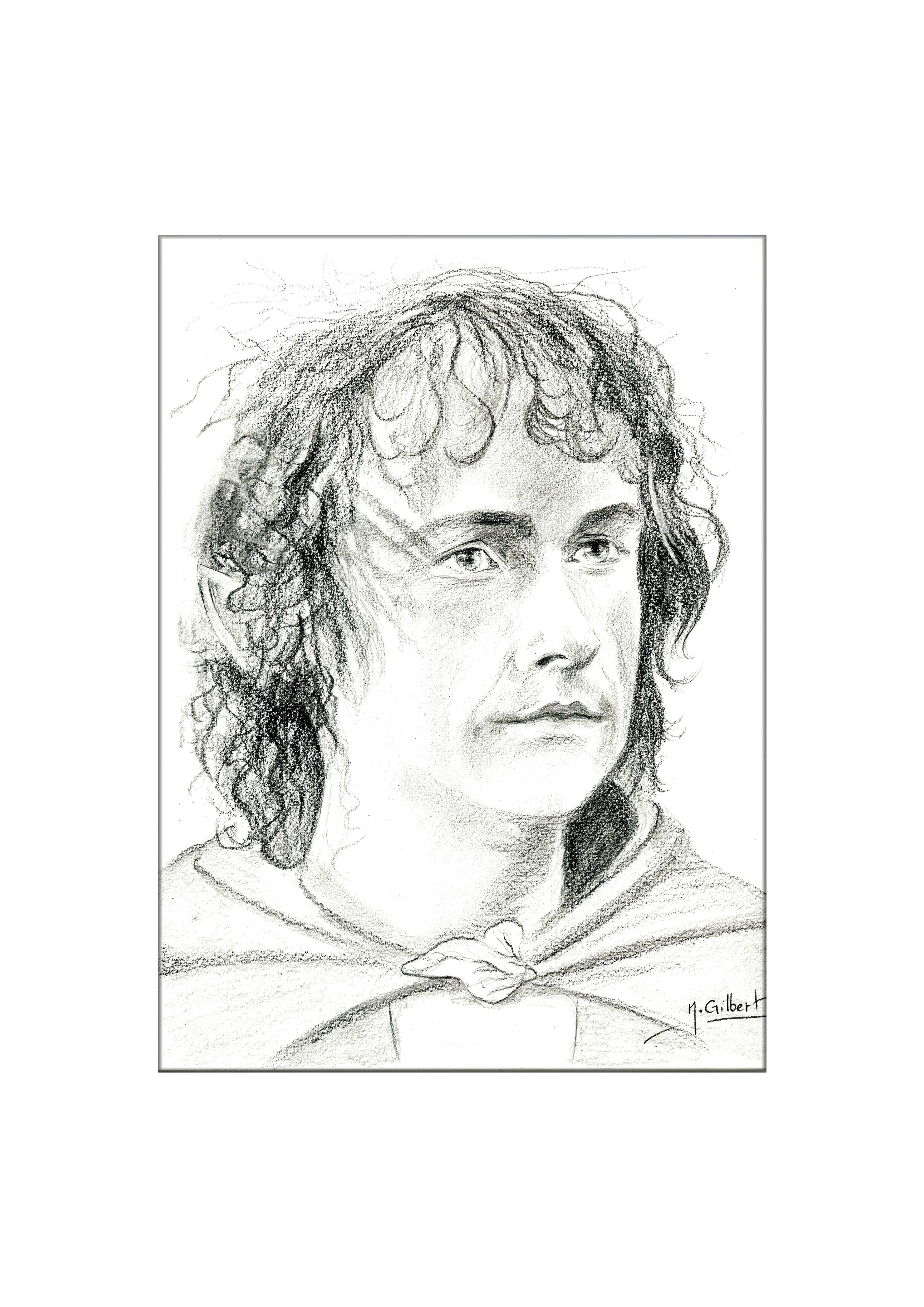 Peregrin took le seigneur des anneaux dessin au crayon - Dessin seigneur des anneaux ...