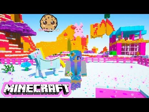 cookieswirlc minecraft game play sugar world animals baby elephant ponies let s play gaming video youtube