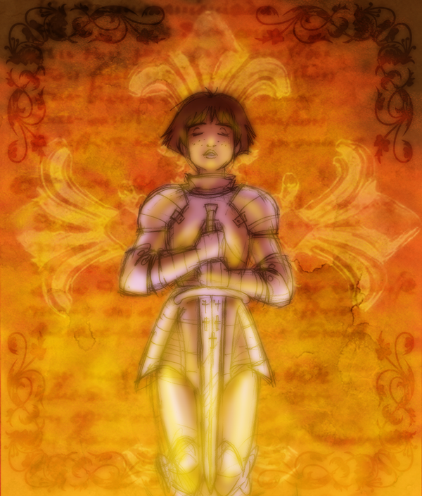 Purified with Fire by queenbean3.deviantart.com on @DeviantArt | Historical  armor, Joan of arc, Deviantart