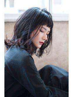 モードミディアム モード ヘア 美髪 モード ヘアスタイル