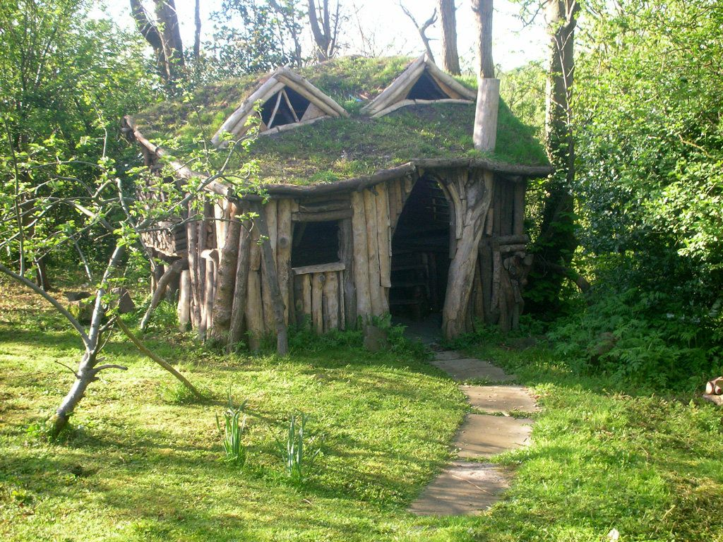 Its Almost Impossible To Believe That This Entire Fairy Tale Cottage Was Constructed With Objects