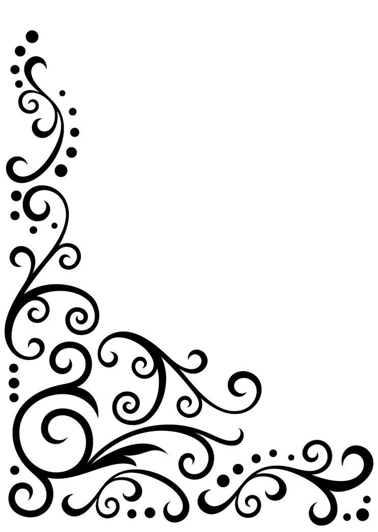 Beautiful borders for chart paper amazon darice embossing folder by inch corner scroll design also image result simple flower border designs school projects rh pinterest