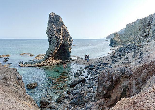 Cabeza Del Dragón En Playa Manacá Mojácar Almería Places To Visit South Of Spain Spain Travel