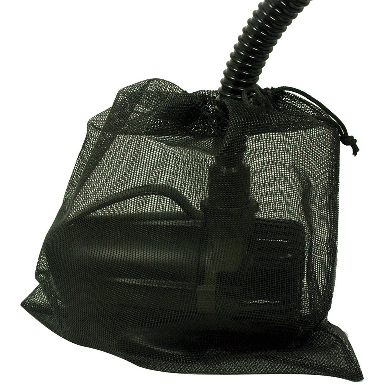 "Details about Black XLarge Water Pump Filter Bag 17"" x 12"
