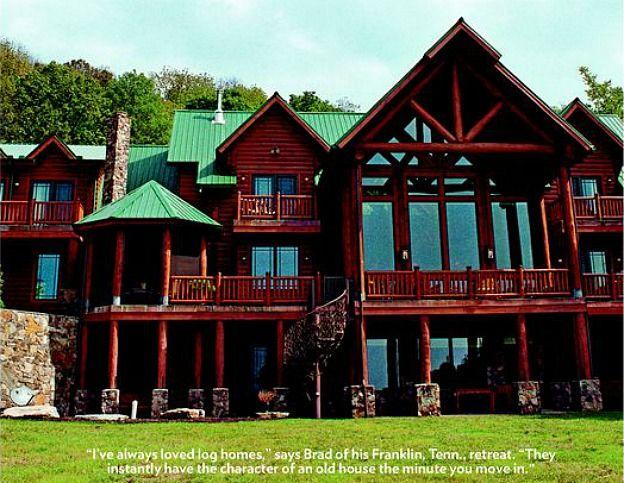 Dream House Exterior Country Log Cabins