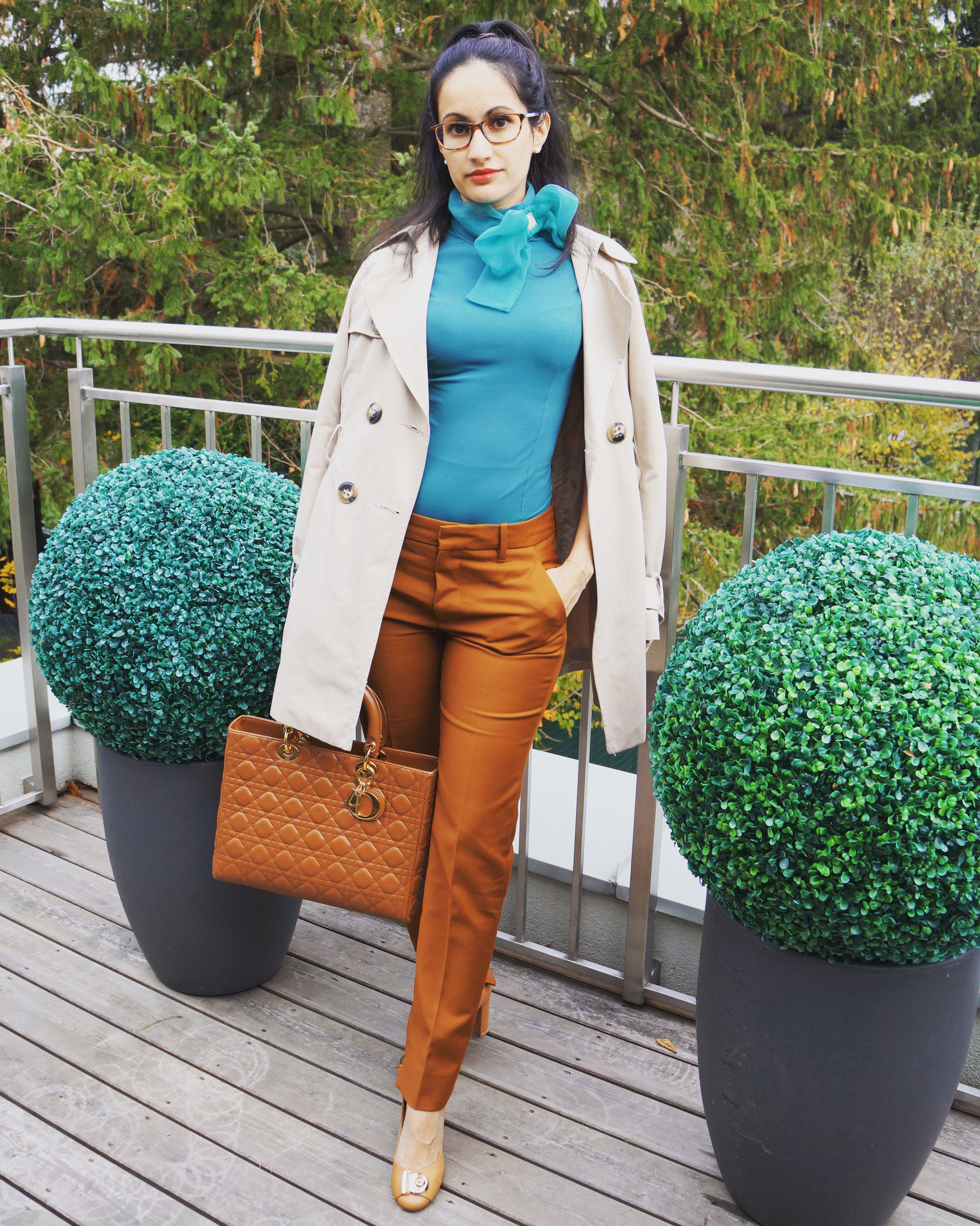 Trousers By Zara Body By Elisabetta Franchi Shoes By Ferragamo