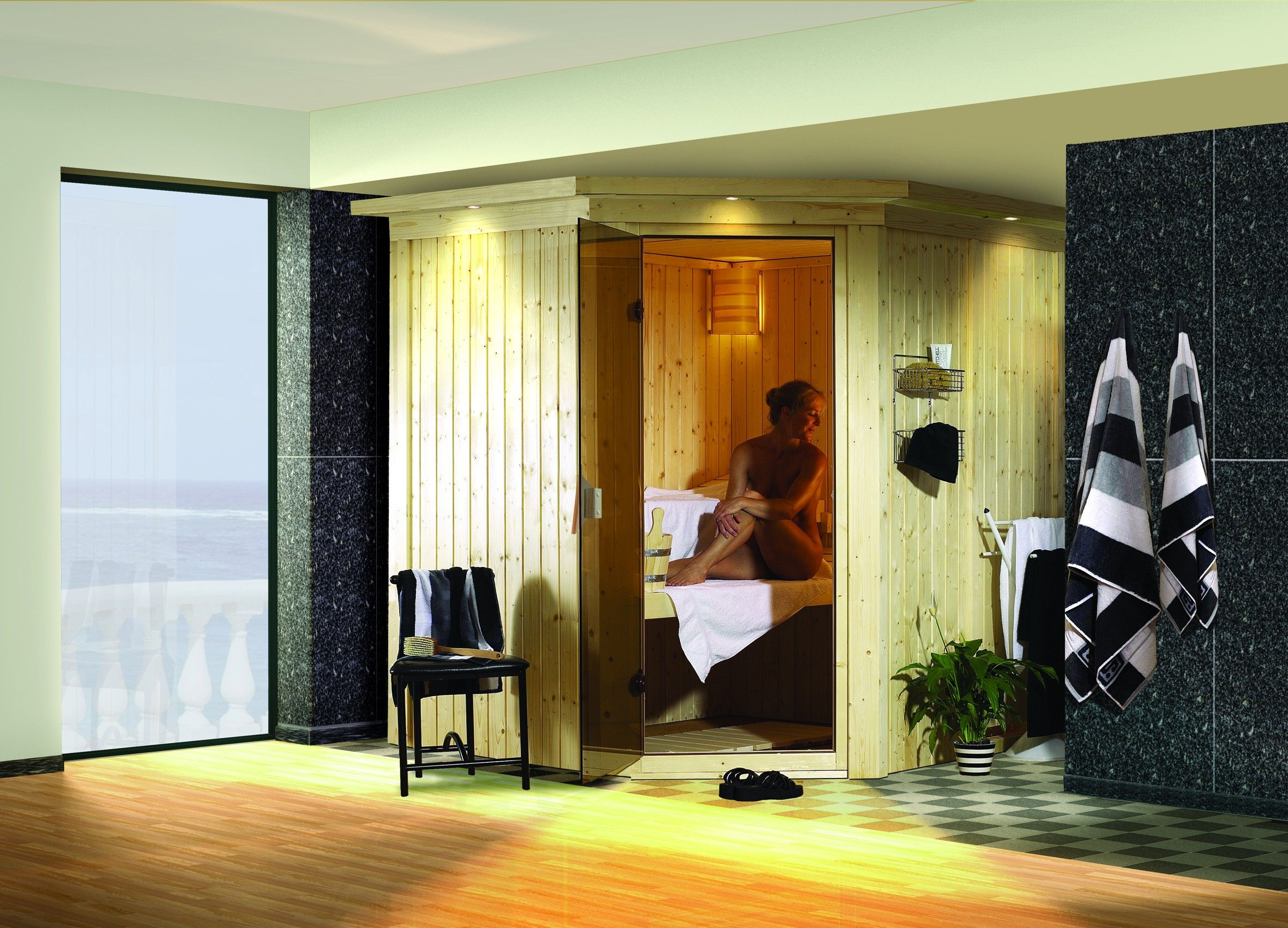 Cabine De Sauna Prix sauna traditionnel lilja 1 68 mm 196 x 170 x 200 cm plug and
