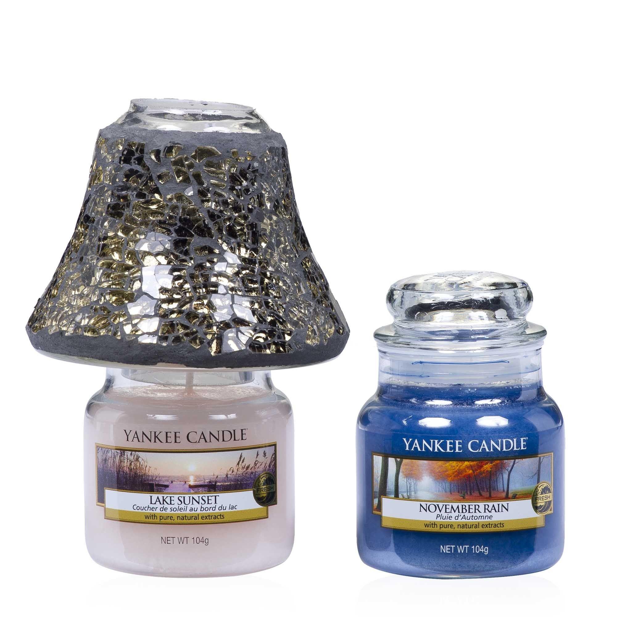 Yankee Candle Duftkerze Housewarmer kleines Glas 104g  Lake Sunset