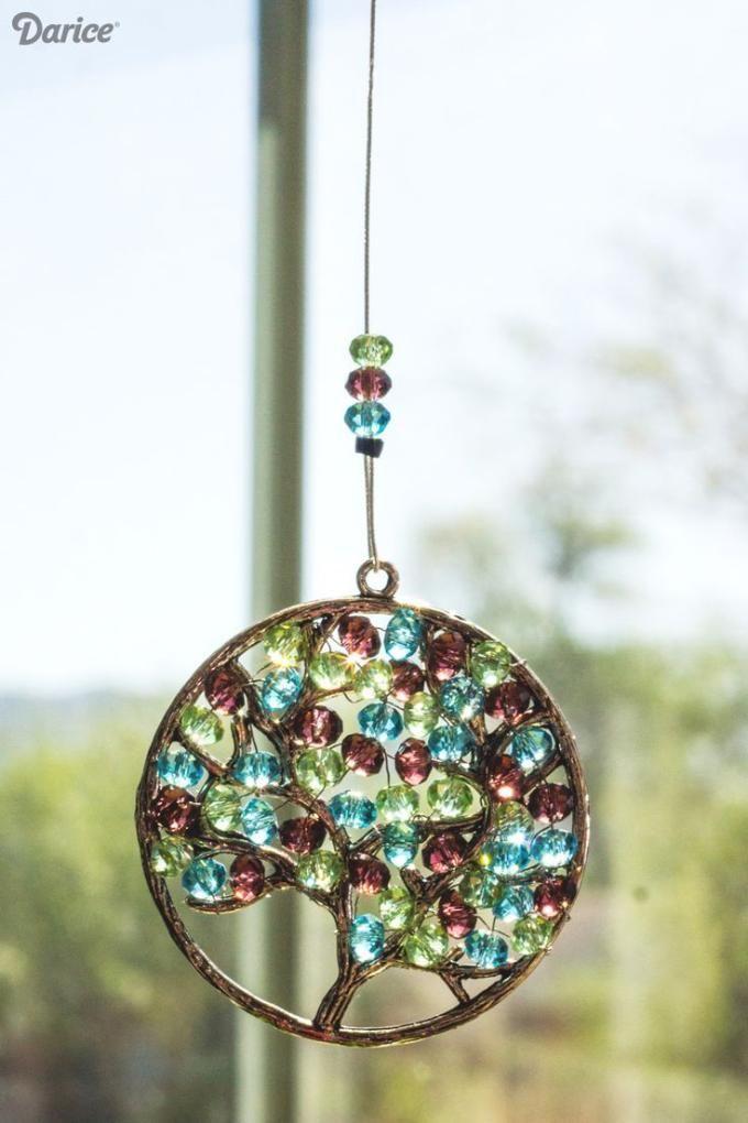 beads suncatcher.Craft ideas 8351 - LC.Pandahall.com | Home ...