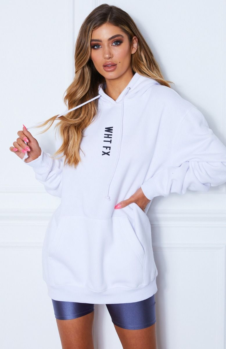 All In Oversized Hoodie White In 2021 White Hoodie Flattering Outfits Oversized White Hoodie [ 1200 x 778 Pixel ]