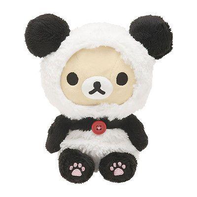 Rilakkuma Korilakkuma Cat Stuffed Animal Size M Japan Cute San-X