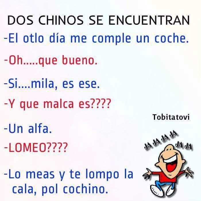 Ah, el idioma!