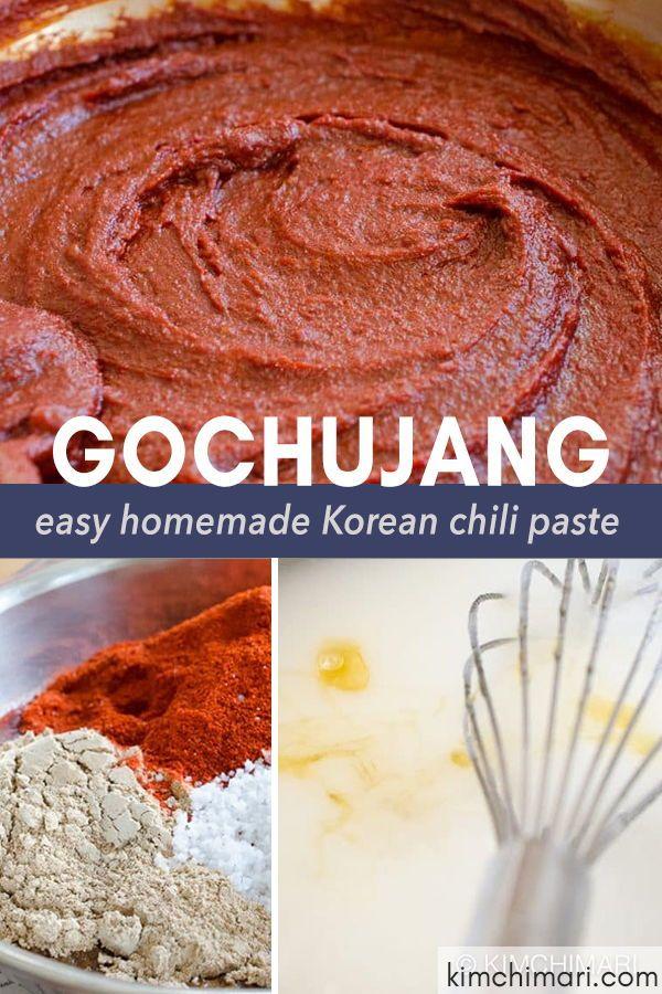Easy Homemade Gochujang Recipe – Almost Instant!