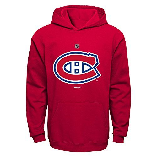 6fbad7407 NHL Montreal Canadiens Boys 8-20 Primary Logo Fleece Hoodie