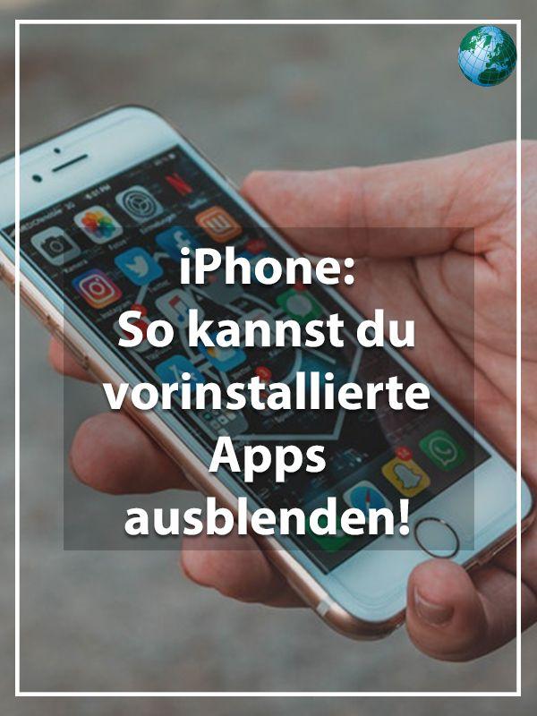 Iphone Apps Verstecken