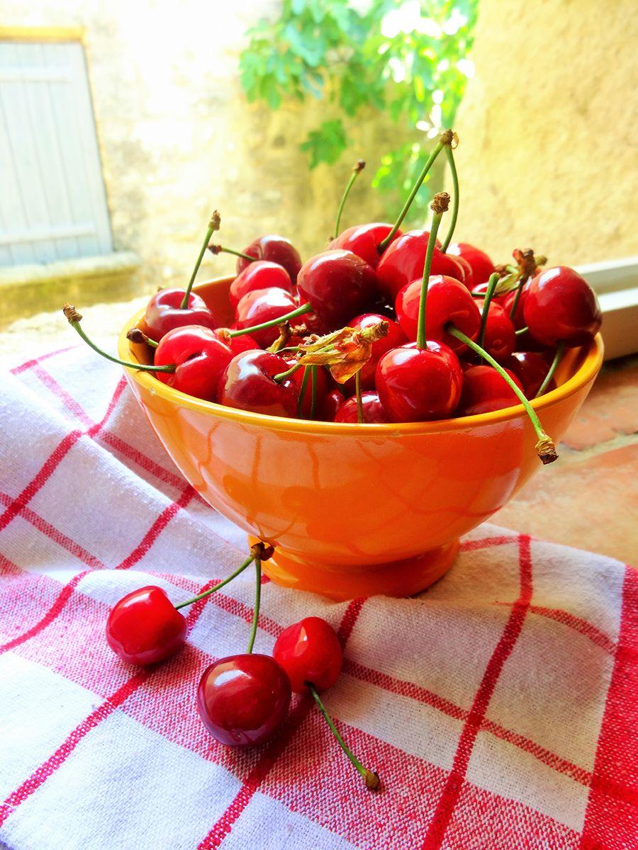 Nature morte aux cerises des go ts et des couleurs - Peinture rouge cerise ...