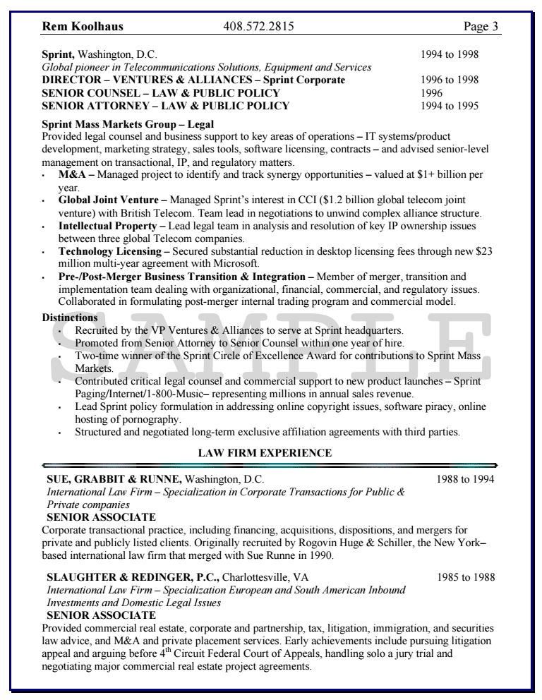 Uxhandy Knock Em Dead Resumes 1 Knock Em Dead General Counsel Resume 6878f766 Resum Professional Resume Writing Service Resume Writing Resume Writing Services
