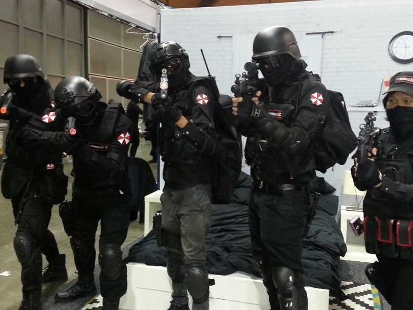 Fabuloso Umbrella Corp Soldiers | Resident evil | Pinterest | Cosplay WS19