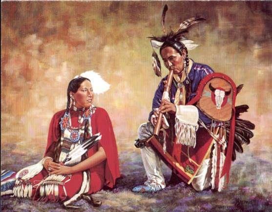 Native American Courtship