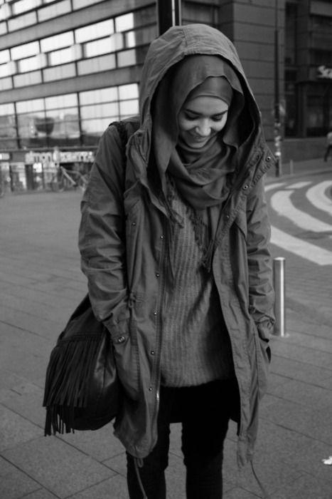hijab urban street style