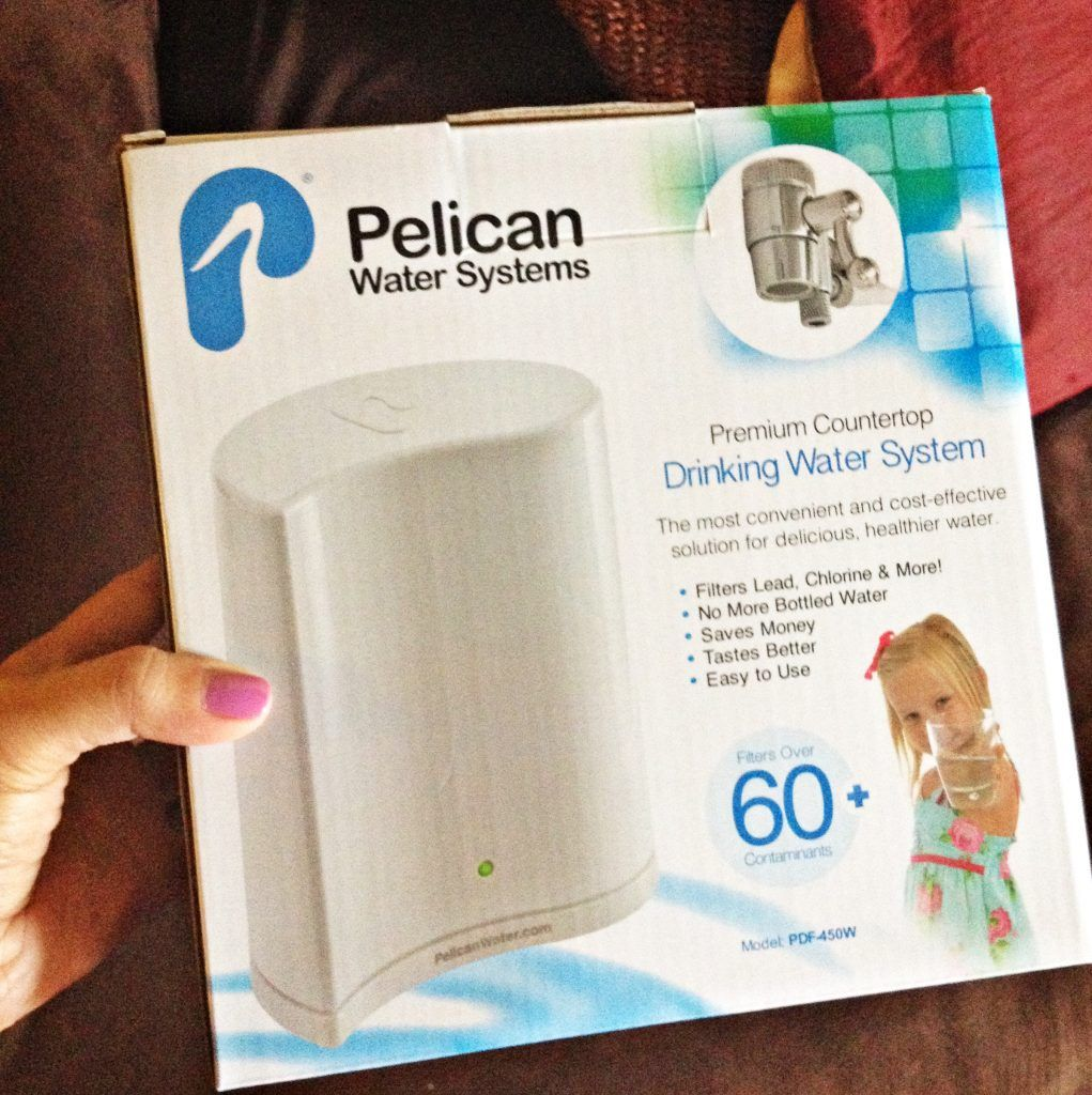 Read The Frugalista Mom S Review Of The Pelican Water Countertop Drinking Filter System Pelican Healthy Water Water Filters System