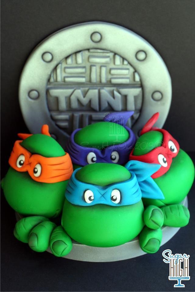 Pin By Nicole Winn On Cake Inspiration Ninja Turtle Cake Turtle Cake Tmnt Cake