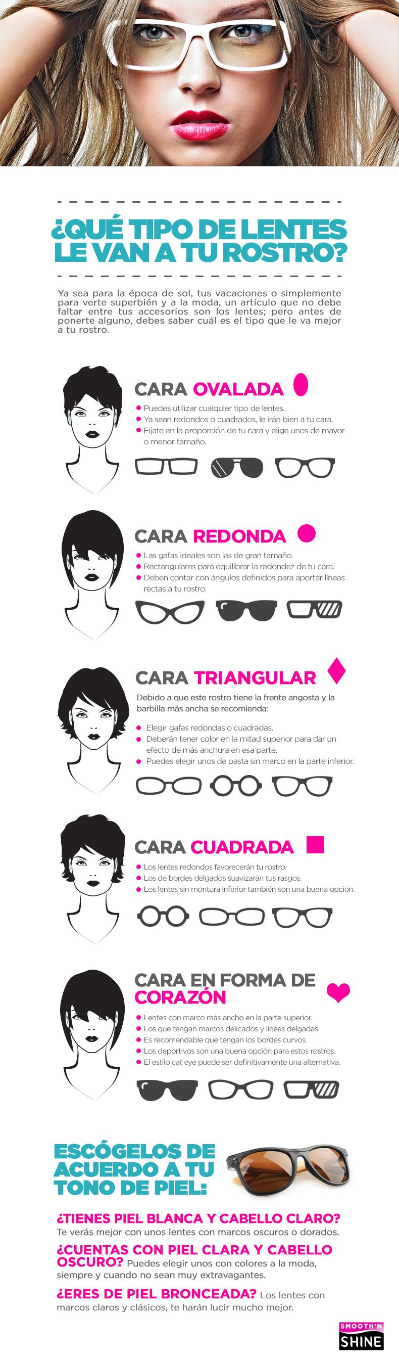 Los lentes enmarcan tu cara, elige el mejor estilo para ti. | Moda ...
