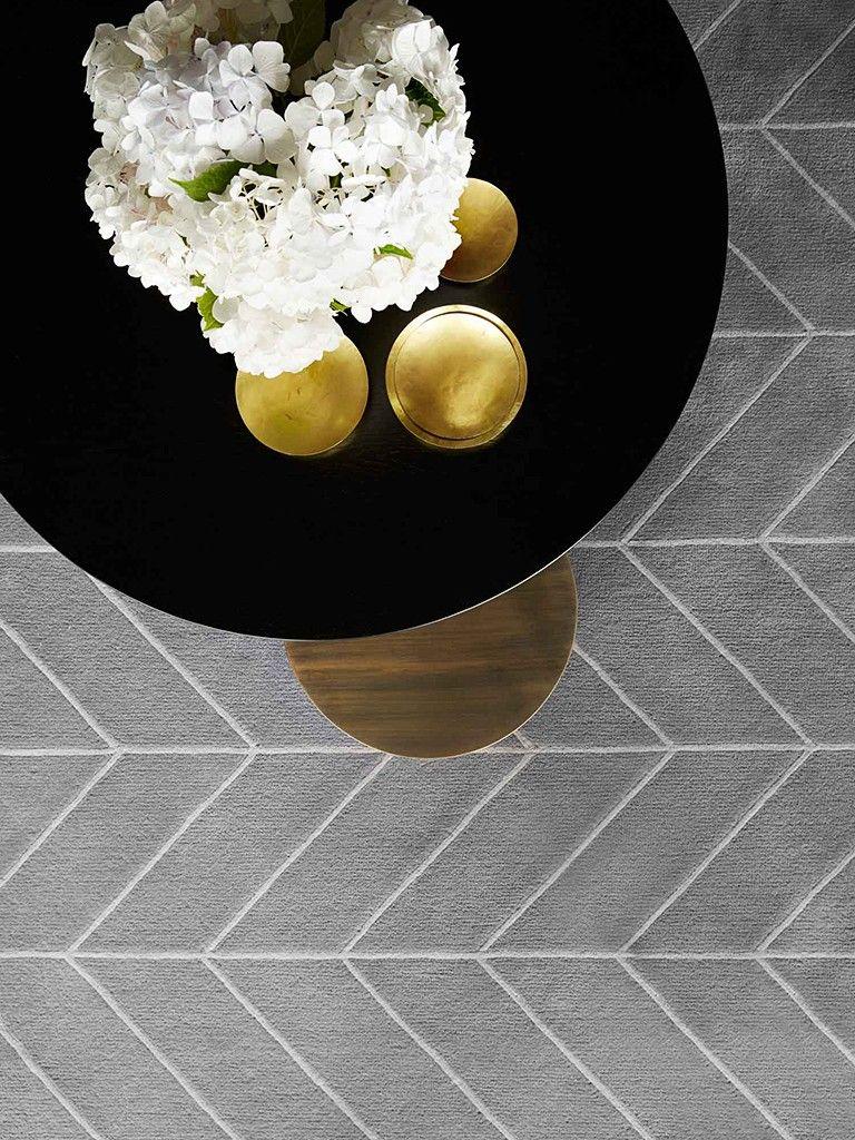 Tapete Com Desenho Geom Trico Apto 11 Pinterest Sala De Estar  -> Tapetes Geometricos Sala