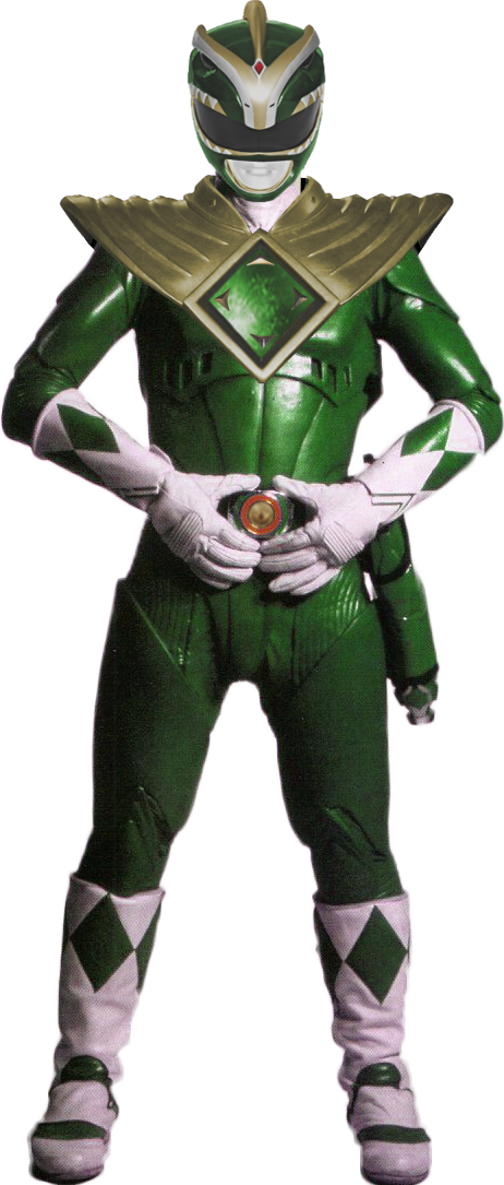 Mmpr The Movie Green Ranger 1995 Version By Bilico86 Green Ranger Green Power Ranger Power Rangers Movie