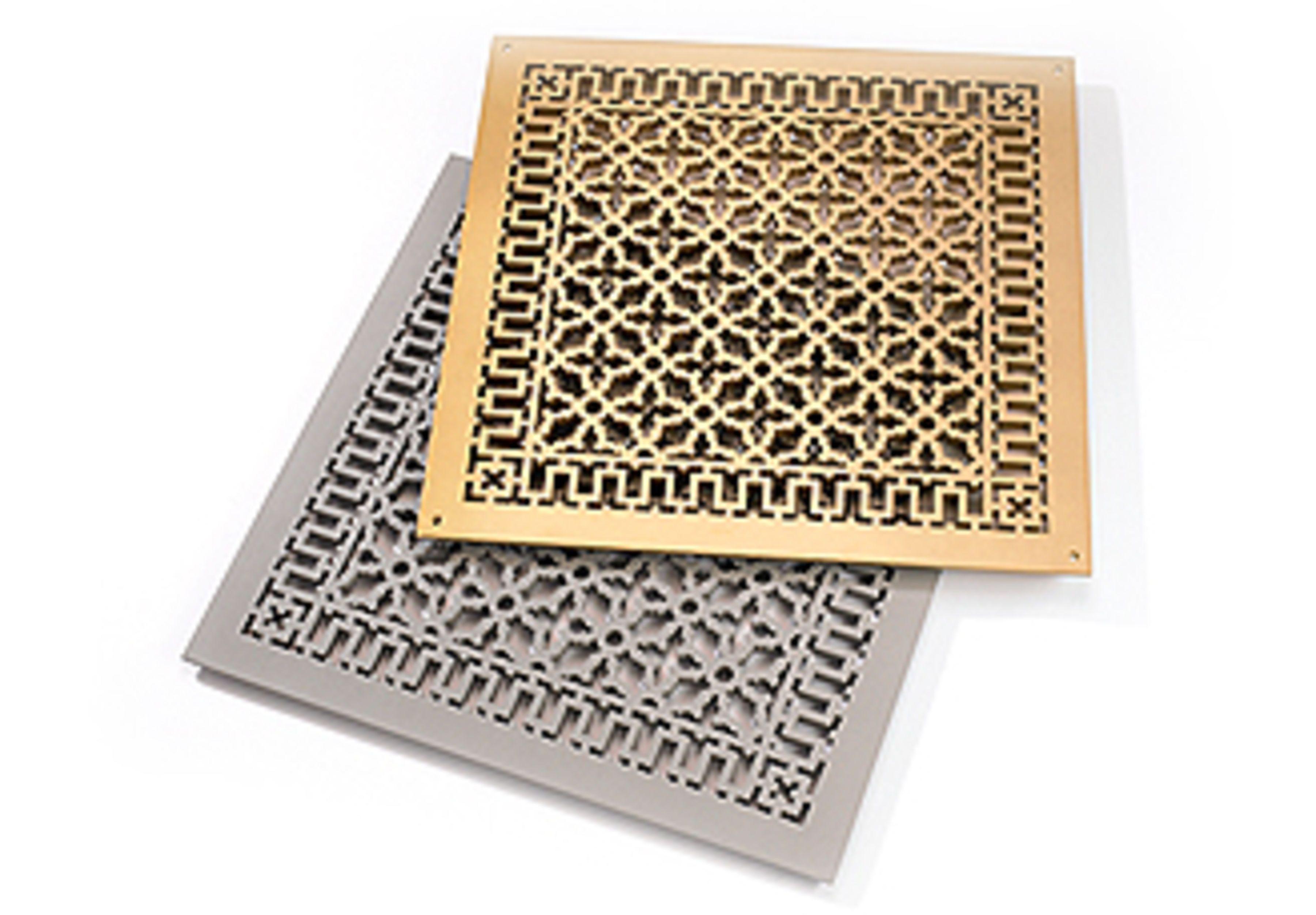 Reggio Registers Reggio, Square patterns, Vent covers