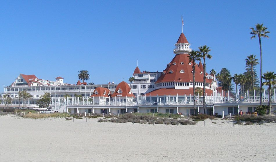 Hotel Del Coronado                                        San Diego.....an absolutely beautiful hotel with lot's of history ....the views are breath-taking