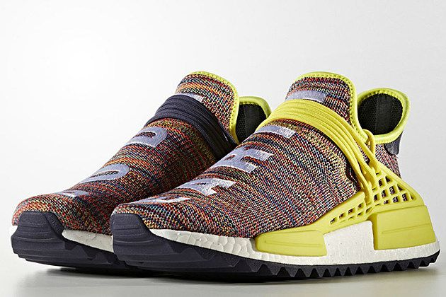 best service 47f43 f36c5 Adidas Pharrell NMD Hu Trail Multi-Color | Above And Beyond ...