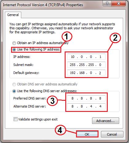How to change your ip address on ipad