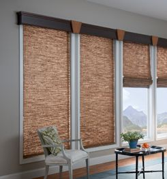 Graber Tradewinds With Wood Cornice Custom Window
