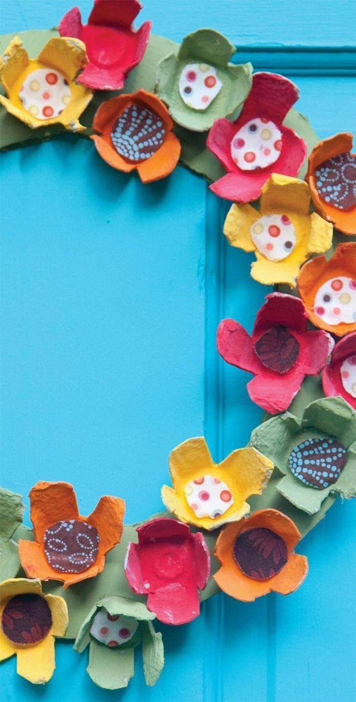 Recycling Basteln mit Eierkarton- 42 kreative und umweltschonende Ideen #recycledart