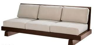 Wooden Living Room Japanese Style Sofa Simple Design View Wooden