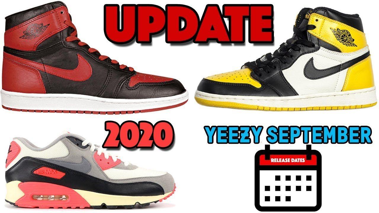 Air Jordan 1 Bred Yellow Toe Update Air Max 90 Infrared 2020 Yeezy S Air Jordans Nike Air Max 90 Newest Jordans