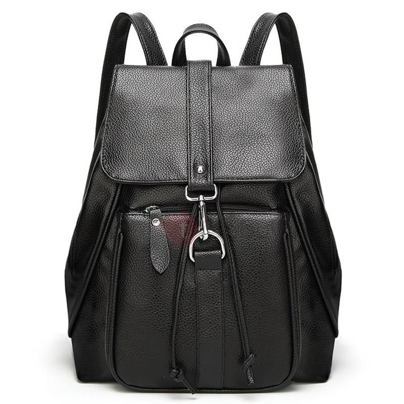 TideBuy - TideBuy Preppy Chic Solid Color Backpack - AdoreWe.com