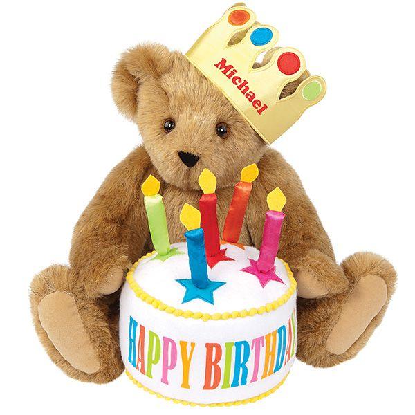 "15"" Happy Birthday Bear In 2020"